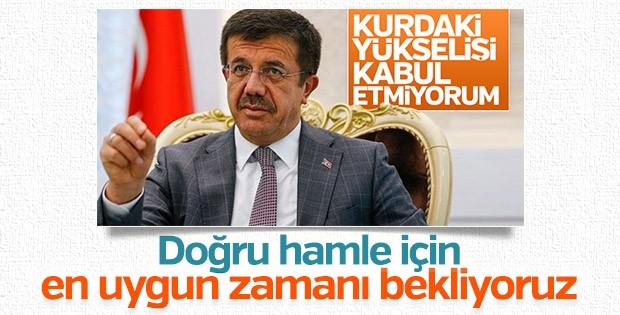 Ekonomi Bakanı Zeybekci'den döviz artışına ilk yorum